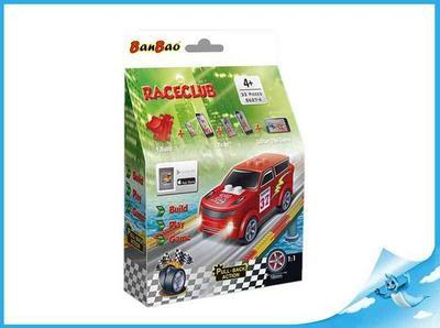 Obrázok Banbao stavebnice RaceClub Robster