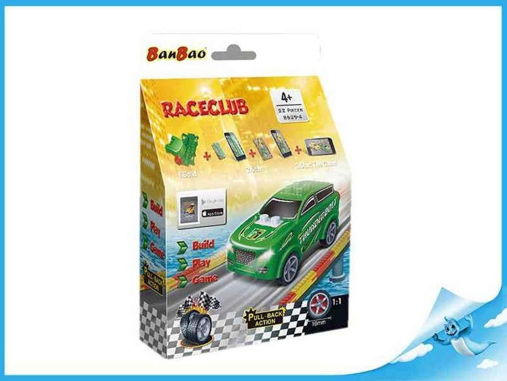 Banbao stavebnice RaceClub Spiker