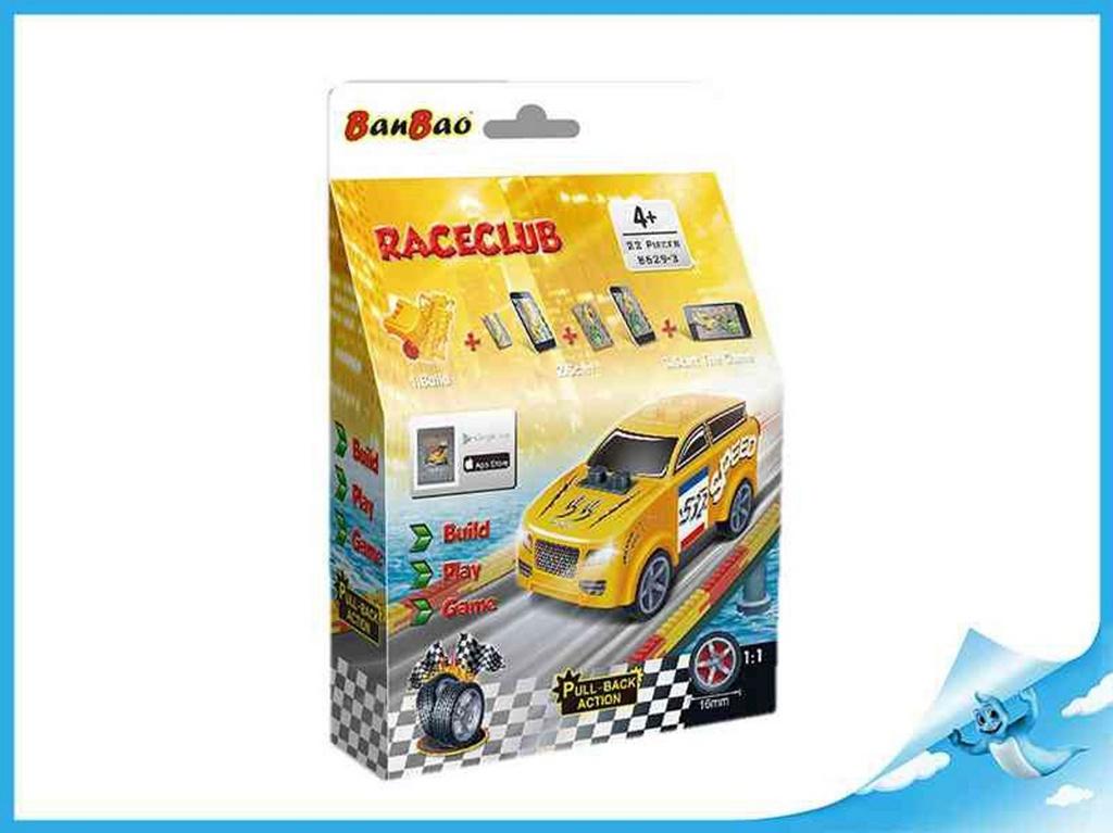 Banbao stavebnice RaceClub Moxy
