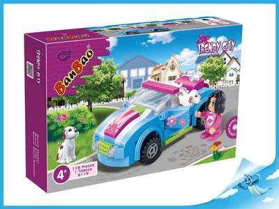 Obrázok Banbao stavebnice Trendy City auto