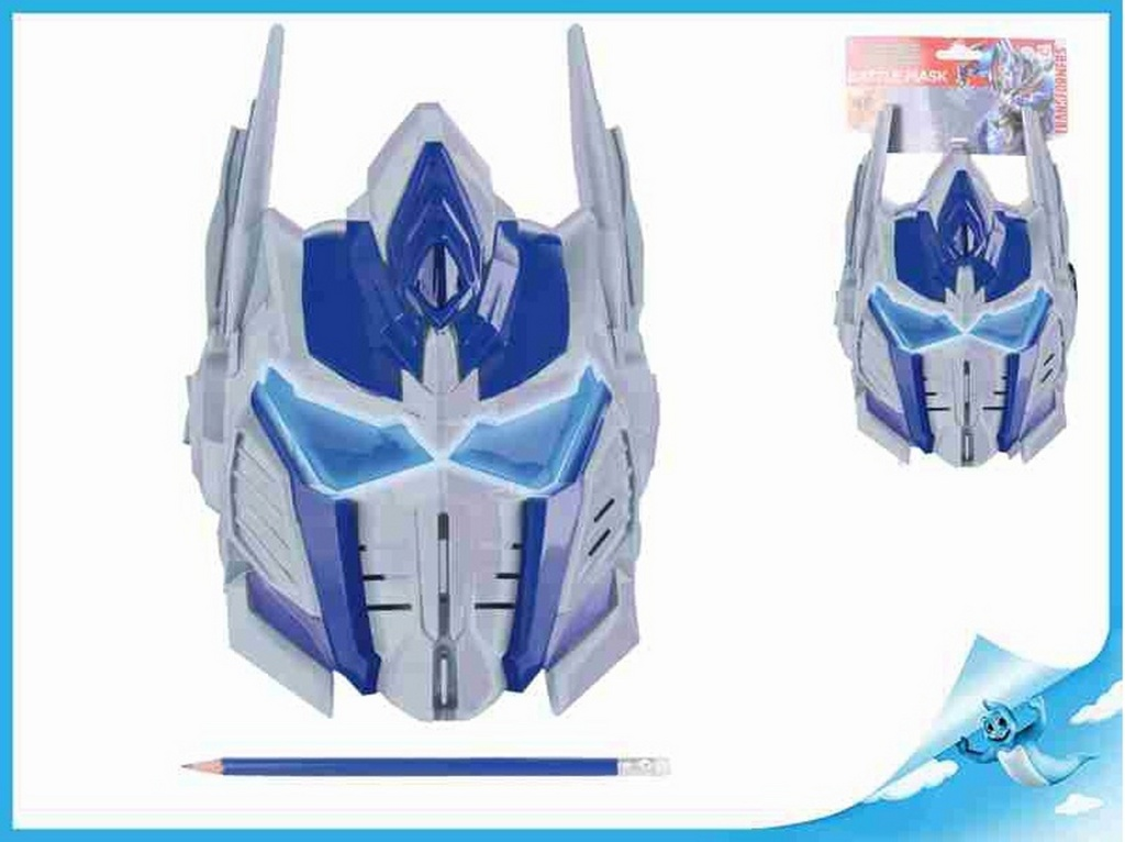 3d725c2866 Obrázok Bojová maska Optimus Prime 26x20cm Transformers na kartě