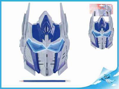 Obrázok Bojová maska Optimus Prime 26x20cm Transformers na kartě