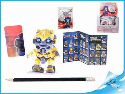Obrázok BOX Figurka Transformers s puzzle kartičkou II. serie