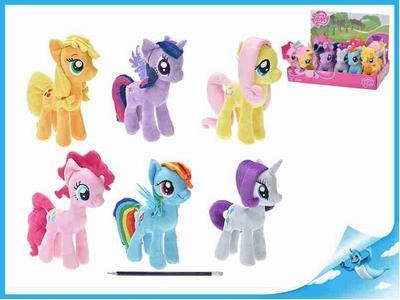 """Obrázok BOX Poník plyšový 17cm """"My Little Pony"""" 6druhů 12ks v karbičce"""