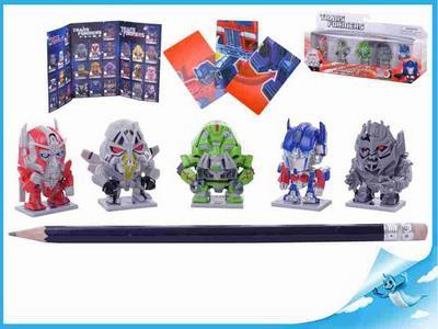 Figurka Transformers 4cm 15druhů 5ks v krabičce