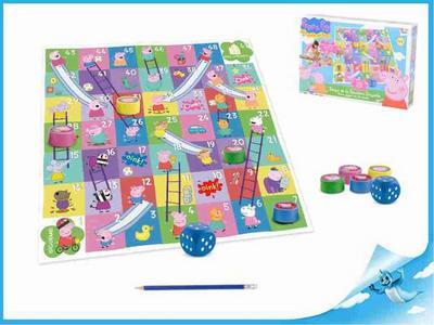 Obrázok Hra Skluzavky a žebříky Peppa Pig v krabičce