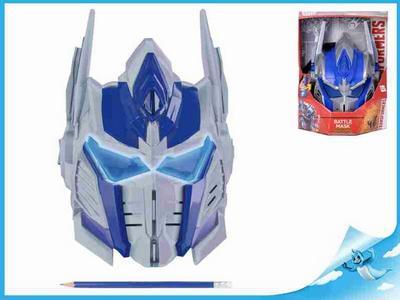 Obrázok Maska Optimus Prime Transformers na baterie různé druhy zvuku + svítící oči