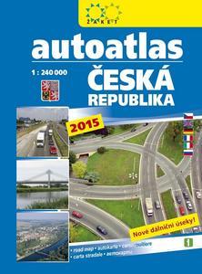 Obrázok Autoatlas Česká republika 1:240 000