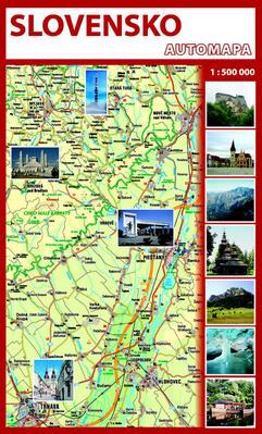 Obrázok Automapa Slovensko 1 : 500 000