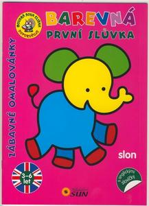 Obrázok Barevná první slůvka Slon