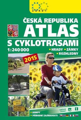 Obrázok Česká republika Atlas s cyklotrasami