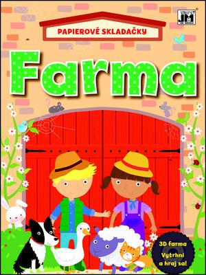 Papierové skladačky Farma
