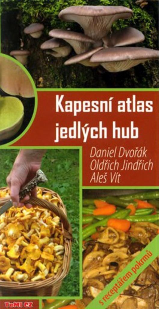 Kapesní atlas jedlých hub - Aleš Vít, Daniel Dvořák, Oldřich Jindřich