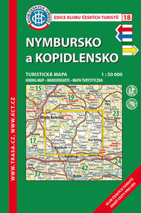 Obrázok KČT 18 Nymbursko a Kopidlnsko 1:50 000