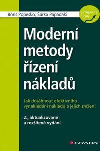 Obrázok Moderní metody řízení nákladů
