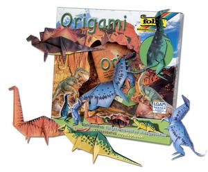 Obrázok Origami Dinosauři