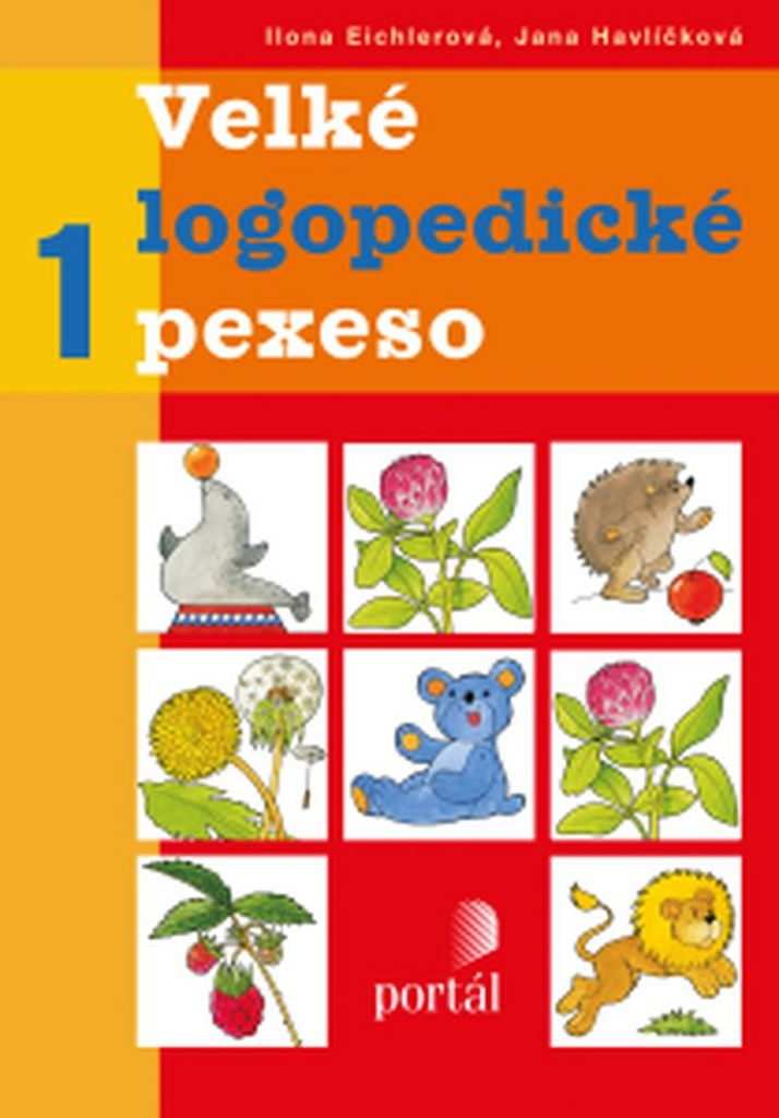 Velké logopedické pexeso 1 - Ilona Eichlerová, Jana Havlíčková