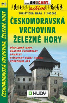 Obrázok Českomoravská vrchovina, Železné Hory