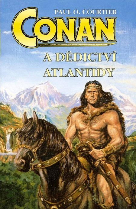Conan a dědictví Atlantidy - Paul O. Courtier