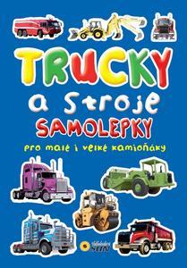 Obrázok Trucky a stroje samolepky