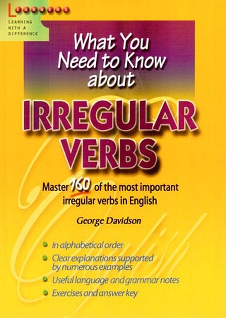 Irregular Verbs - George Davidson