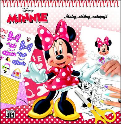 Maluj, stříhej, nalepuj! Minnie