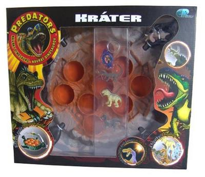 Obrázok Predators hra sopka s UV svítilnou