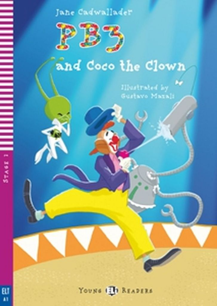 PB3 and Coco the Clown - Jane Cadwallader