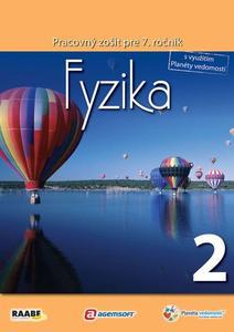 Obrázok Fyzika Pracovný zošit pre 7. ročník 2
