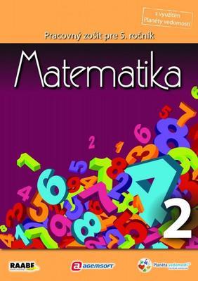 Obrázok Matematika Pracovný zošit pre 5. ročník 2