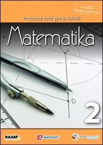 Obrázok Matematika Pracovný zošit pre 8. ročník 2