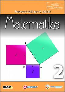 Obrázok Matematika Pracovný zošit pre 9. ročník 2