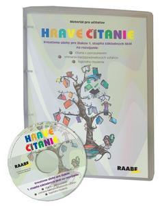 Obrázok Hravé čítanie Kreativné úlohy pre žiakov 1. stupňa ZŠ na rozvíjanie: (+ CD)