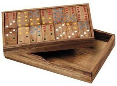 Obrázok Domino dřevěné 6