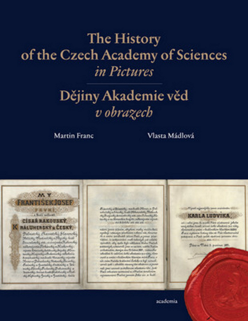 The History of the Czech Academy of Sciences in Pictures (Dějiny Akademie věd v obrazech) - Martin Franc, Vlasta Mádlová