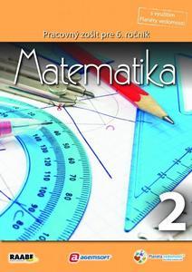 Obrázok Matematika Pracovný zošit pre 6. ročník 2
