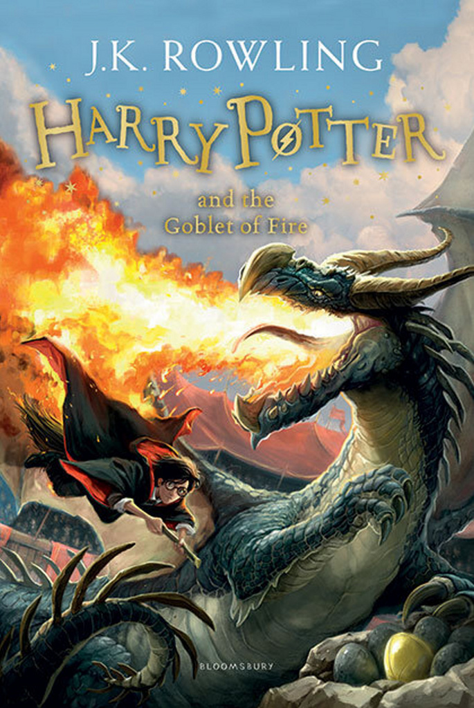 Bloomsbury UK Harry Potter and the Goblet of Fire 4 - Joanne K. Rowling