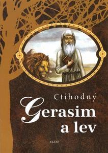 Obrázok Ctihodný Gerasim a lev
