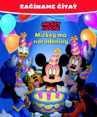 Obrázok Začíname čítať Mickey má narodeniny