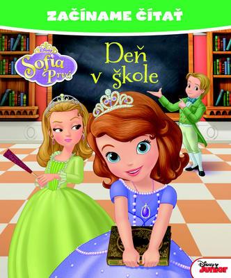 Obrázok Začíname čítať Sofia Prvá Deň v škole