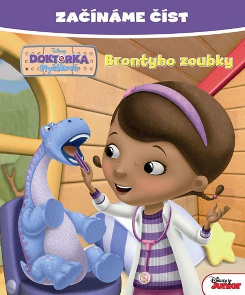 Začínáme číst Doktorka Plyšáková Brontyho zoubky - Walt Disney