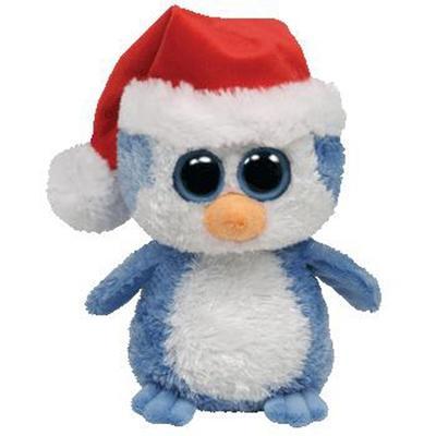 Obrázok Plyš očka střední tučňák vánoční