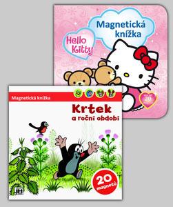 Obrázok Balíček 2ks Magnetická knížka Hello Kitty + Krtek a období