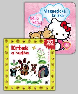 Obrázok Balíček 2ks Magnet knížka Hello Kitty + Krtek a hudba