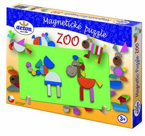 Obrázok Magnetické puzzle ZOO