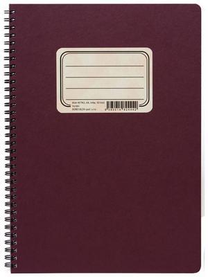 Obrázok Retro zápisník s tužkou