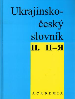 Obrázok Ukrajinsko - český slov. 2.díl