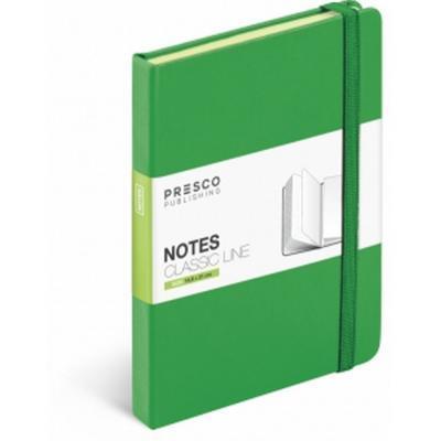 Notes Tuscon A5 zelená 2015