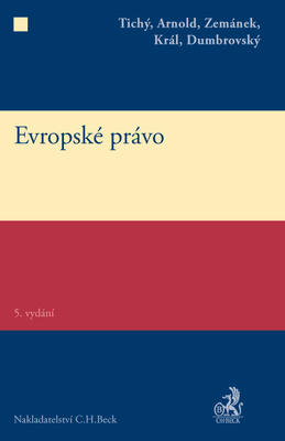 Obrázok Evropské právo 5. vydání