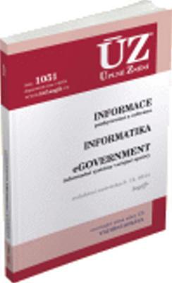 Obrázok ÚZ 1051 Informace, Informatika, eGovernment